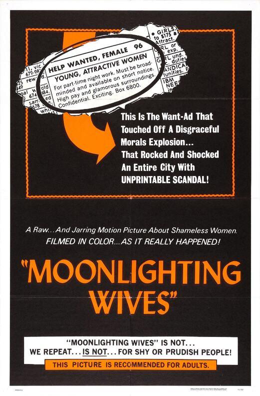 MOONLIGHTING WIVES  BOX OFFICE USA 1966
