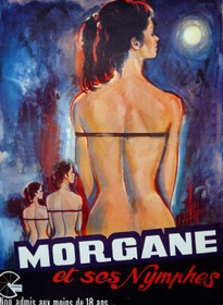 MORGANE ET SES NYMPHES BOX OFFICE FRANCE 1971
