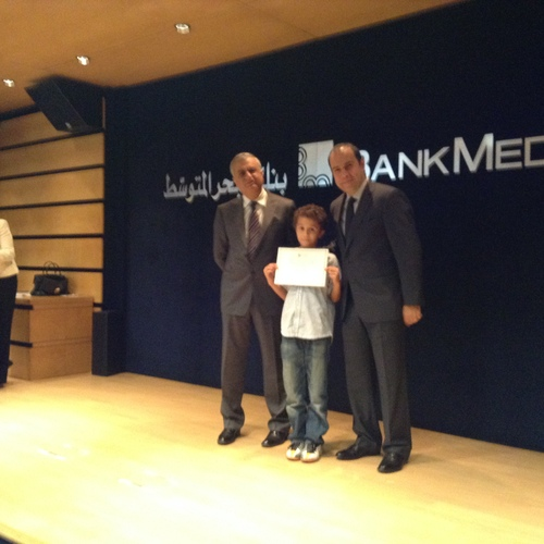 Concours Bank Med 2014.