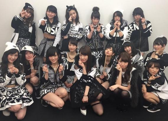 """AKB48 dans """"MUSIC STATION"""""""
