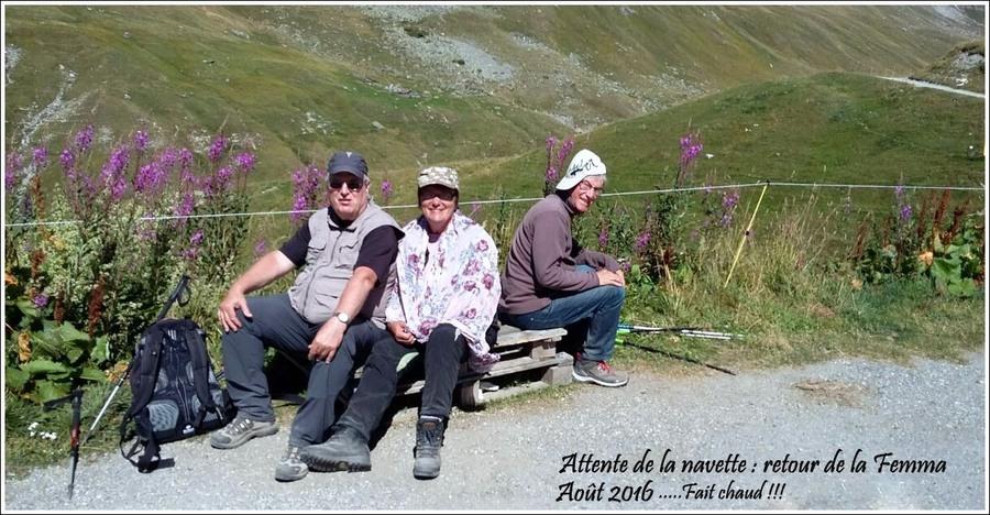 On continue les balades autorisées......En route vers La Femma ( Vanoise ) en 2016