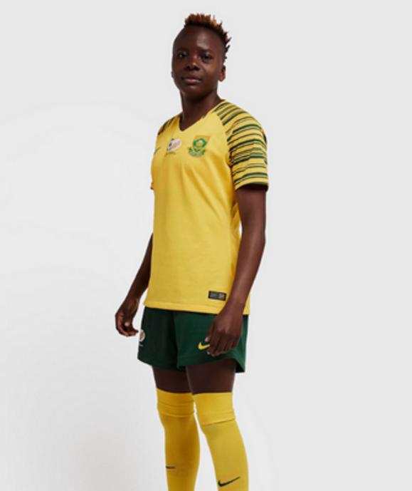 Maillot Afrique du Sud féminin mondial 2019 domicile