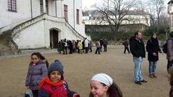 Visite du château des CE CM