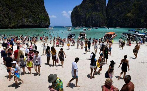THAILANDE. Plage interdite   (Voyages)