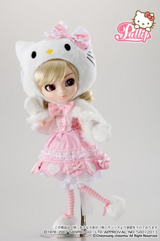 Octobre 2007 : Pullip Hello Kitty