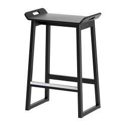 tabouret ikea malte noir n 2 vivelesmaries. Black Bedroom Furniture Sets. Home Design Ideas
