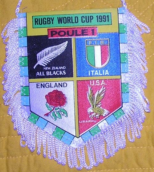 Fanion Poule 1 Coupe du Monde 1991 (19)