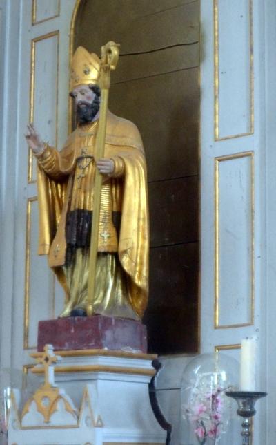 Visite guidée de l'église d'Obtrée