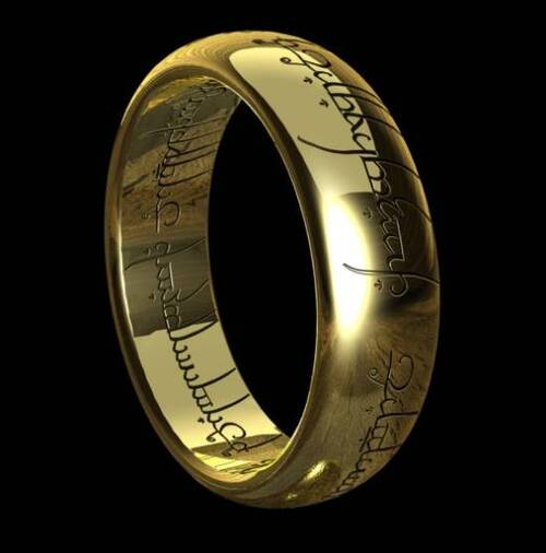 Je veux: L'anneau unique!