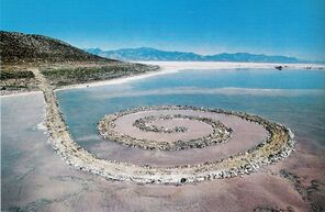 Spirales et land art