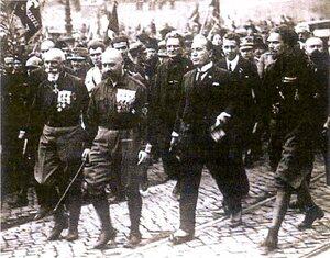 Mussolini prend le pouvoir en Italie