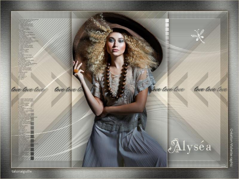 *** T 132-Alyséa ***
