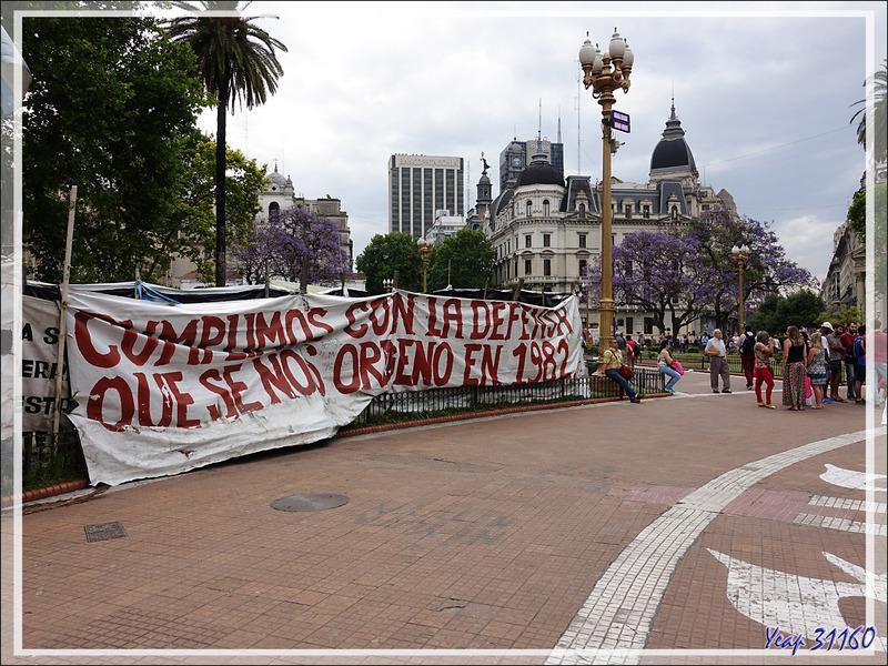 Plaza de Mayo, la place de toutes les contestations - Buenos Aires - Argentine