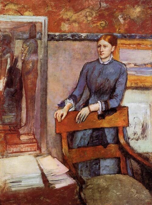* Degas 14 /  Les dîners chez Rouart (3)