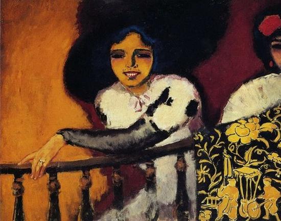 Kees Van Dongen, Femmes à la balustrade