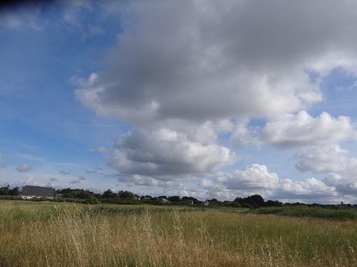 Les nuages arrivent, le temps change
