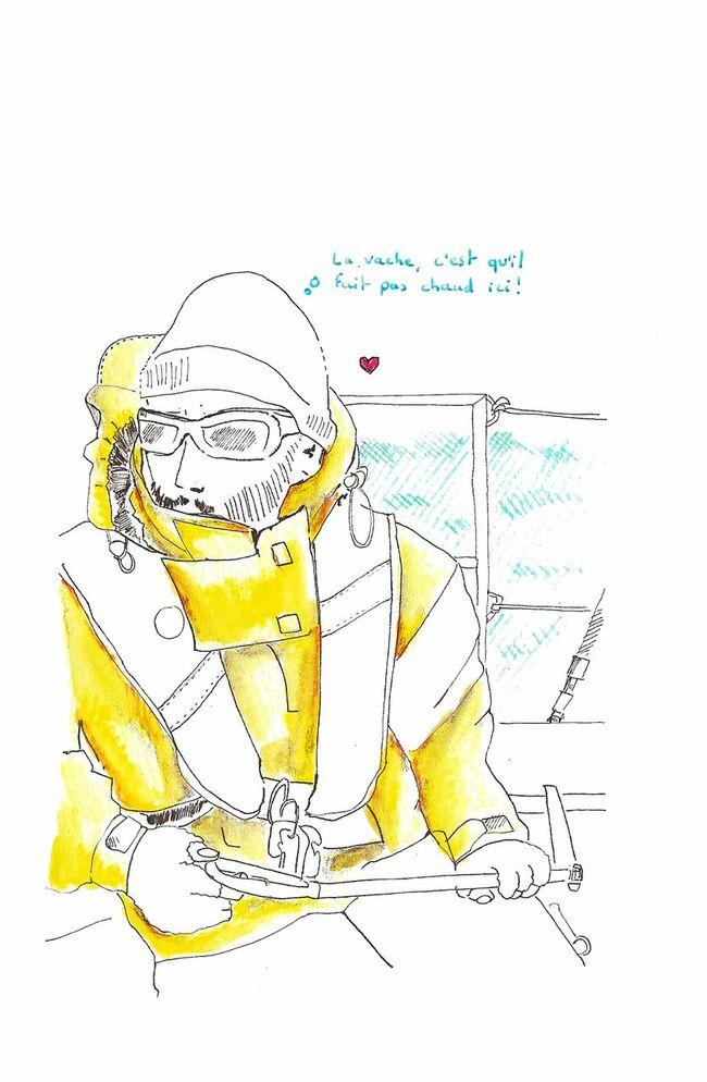jeremy, brise de mer 31, voilier, voyage, vent, finot