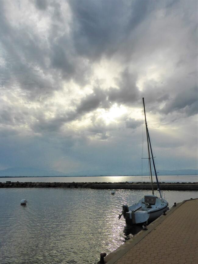 Ciel avant l'orage.....