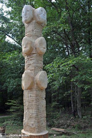Métamorphose (Artiste : Albert POIZAT ) Forest'Art Orléans 2011