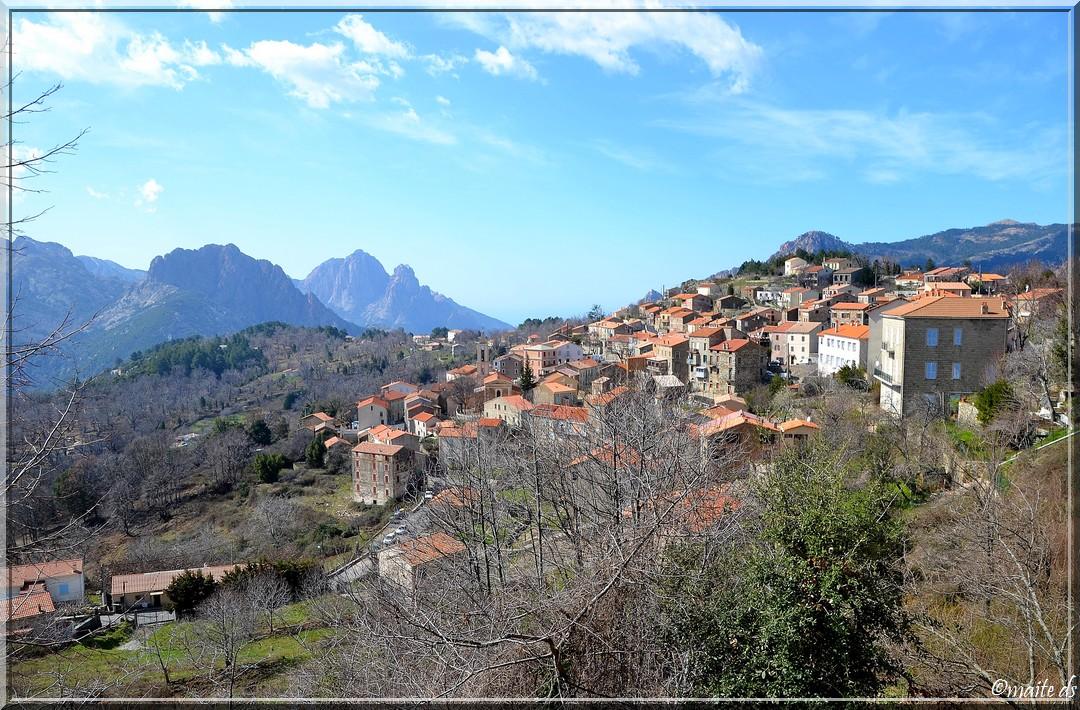 Petits villages corses (5) Evisa