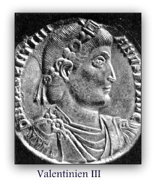 çà s'est passé en juillet vaentinien III médaillon