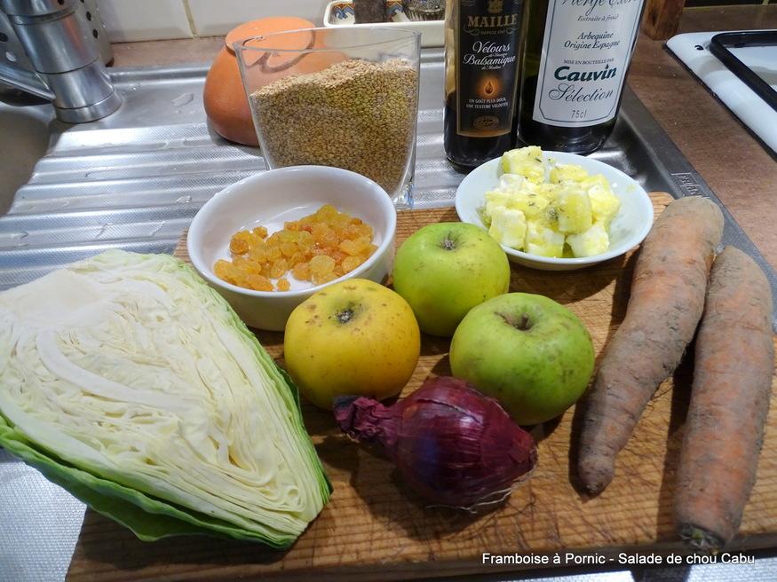 Salade de chou cabus