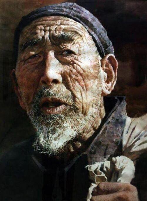 Liu Yunsheng aquarelliste de génie