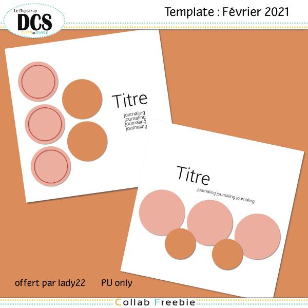 Templates DCS de Février 2021
