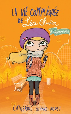 Couverture de La vie compliquée de Léa Olivier, tome 5 : Montagnes Russes