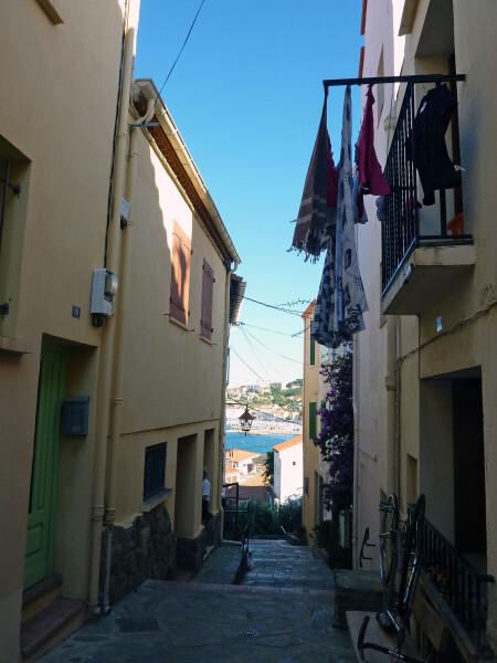 Banyuls - Promenade du Cap d'Osna - ruelle