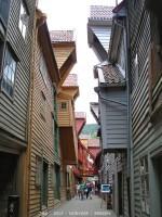 Bergen-passages Bryggen