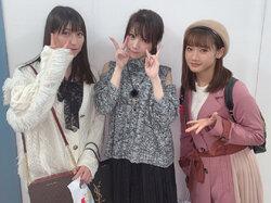 Reina est allée voir Tanaka Reina pour son anniversaire