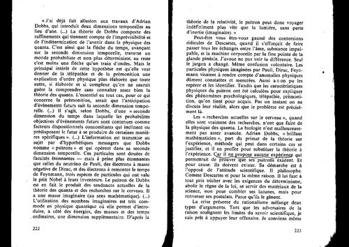 """Gerard BONNOT """"La vie c'est autre chose"""" pages 214 à 222  Geller"""