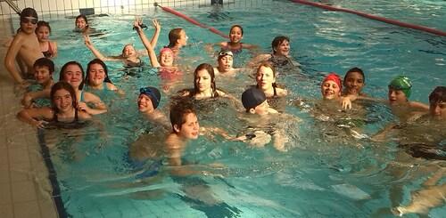 De très belles performances au championnat départemental de natation UNSS!!!