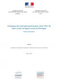 Evaluation du volet préventif du plan 2010-2015 de lutte contre les algues vertes en Bretagne - Bilan et propositions
