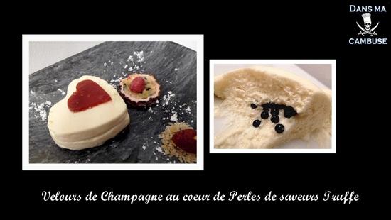 velours de champagne coeur truffe