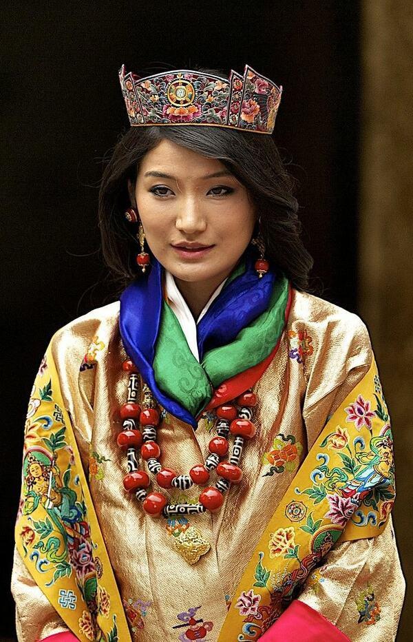 La reine du Bhoutan