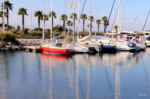 Le Barcarès: le port fin octobre