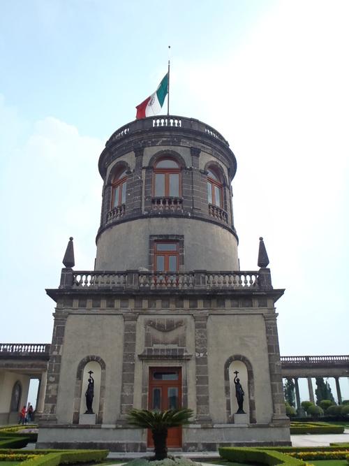 Tour du château de Chapultepec
