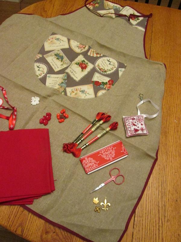 Echange de Noël 2016 : Rouge