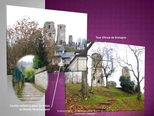 Centre ville - Camp Henri IV (Vert Galant) à Montfort l'Amaury
