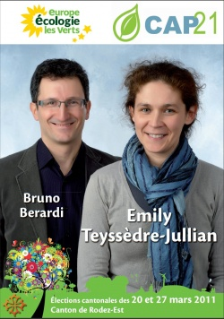 Cantonales Rodez Est Bruno et Emily