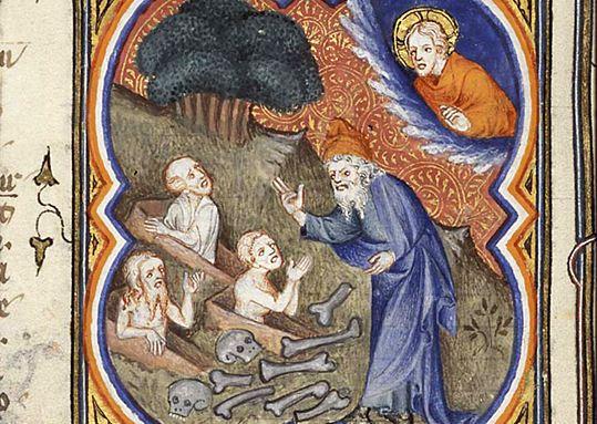Vision d'Ezéchiel (P Comestor Bible historiale) - Jean Bondol