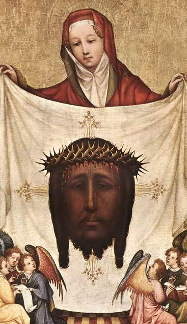 Sainte Véronique, Femme ayant essuyé le visage du Christ montant au Golgotha (1er s.)