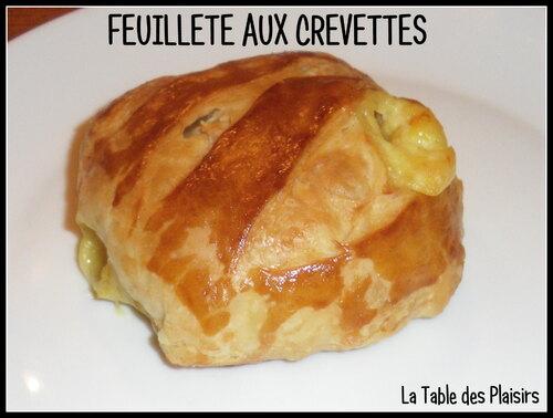 FEUILLETÉ AUX CREVETTES