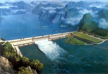 Barrages hydroélectriques dans le monde