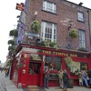 The Temple bar : one of the most famous pub in Ireland
