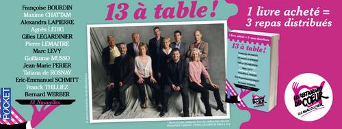 13 À TABLE ! AVEC LES RESTOS DU COEUR (@Pocket_Edition )