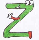 Alphabet rigolo