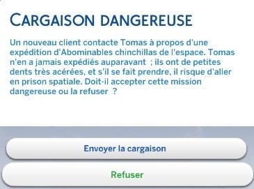 Cargaison dangereuse